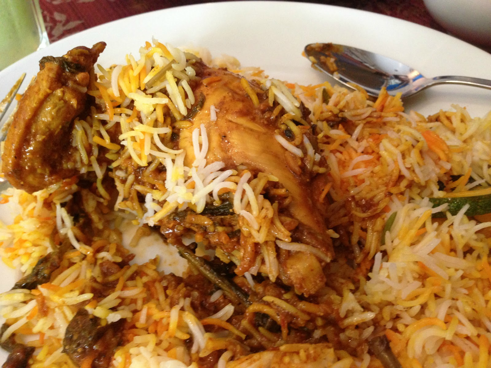 Singapore Islamic Restaurant Biryani on North Bridge Road