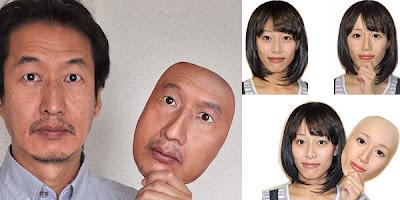 Jepun Cipta Topeng Wajah Realistik