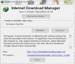 Internet Download Manager 6.18 Build 7 Full Patch Terbaru 2013