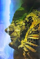 Efecto visual cara Machu Picchu, Perú, Wikia.com, mundoporlibre.com