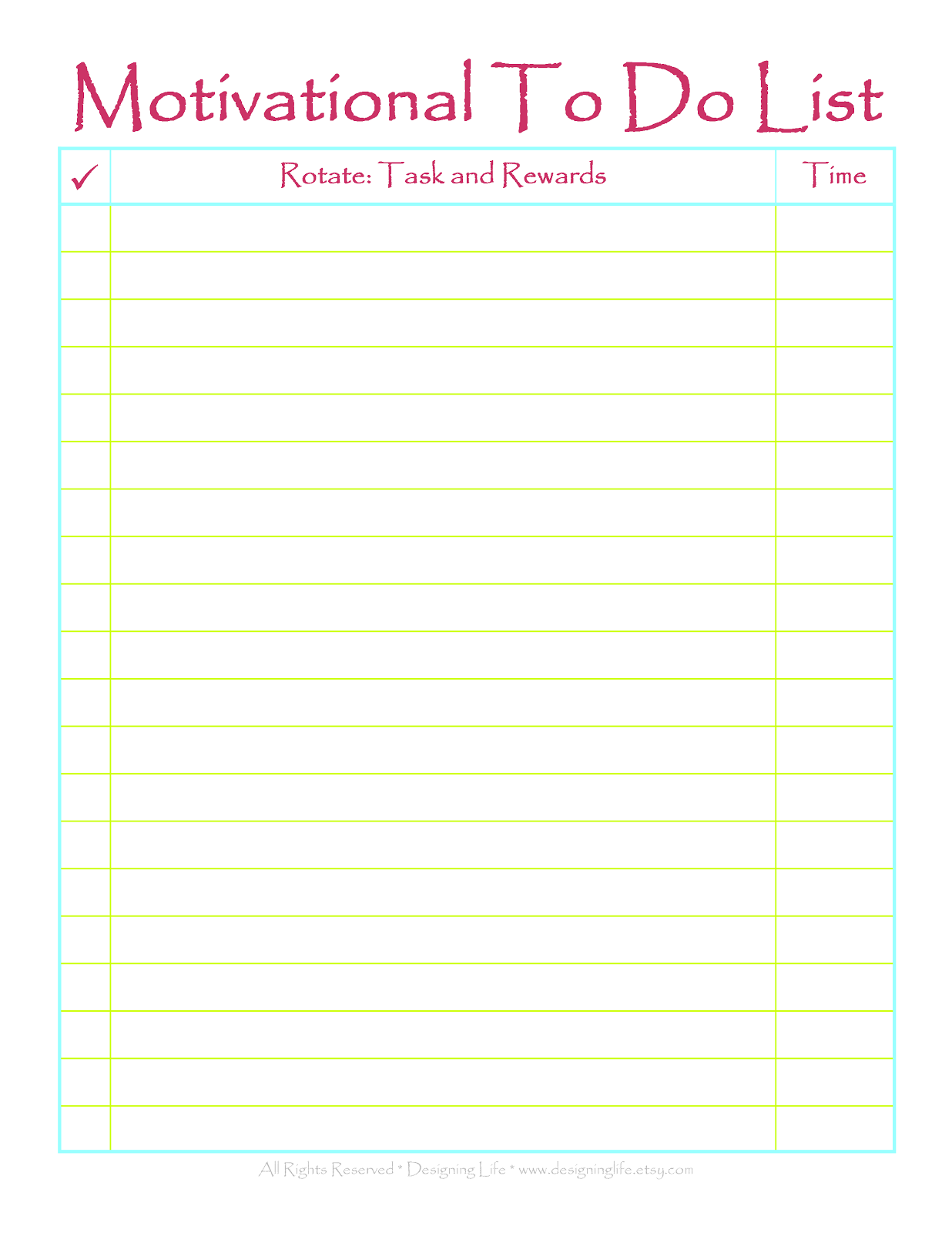 It is a photo of Effortless Printable Todo Lists