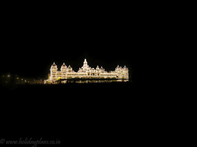Mysore Palace minimal photography