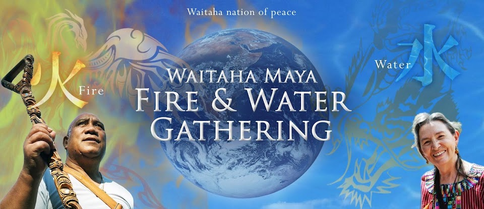 Waitaha Maya Fire & Water Gathering 2016