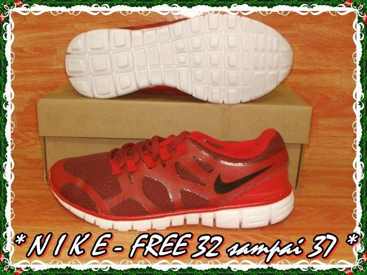 Sepatu running nike free anak dan perempuan Rp.170.000 (32-40 ... 852a5e4160