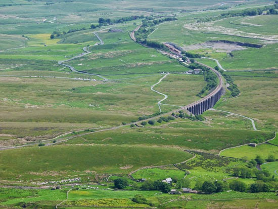 Whernside views, Ribblehead, Yorkshire, walking in the Dales