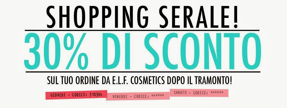 E.L.F. - Shopping serale -30%