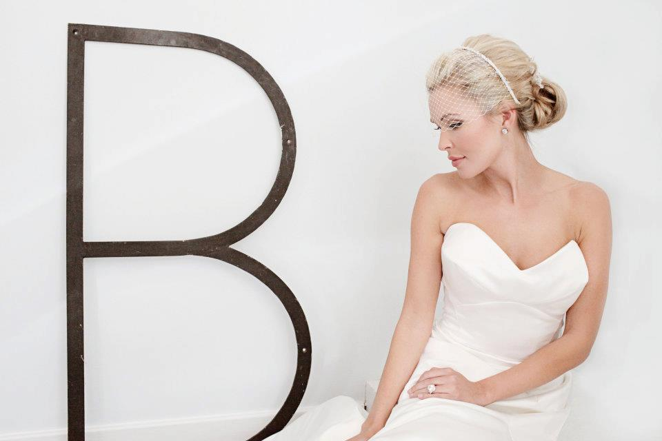 Lauren Lorraine Jones, Designer and Model, poses for a Bridal Photo Shoot