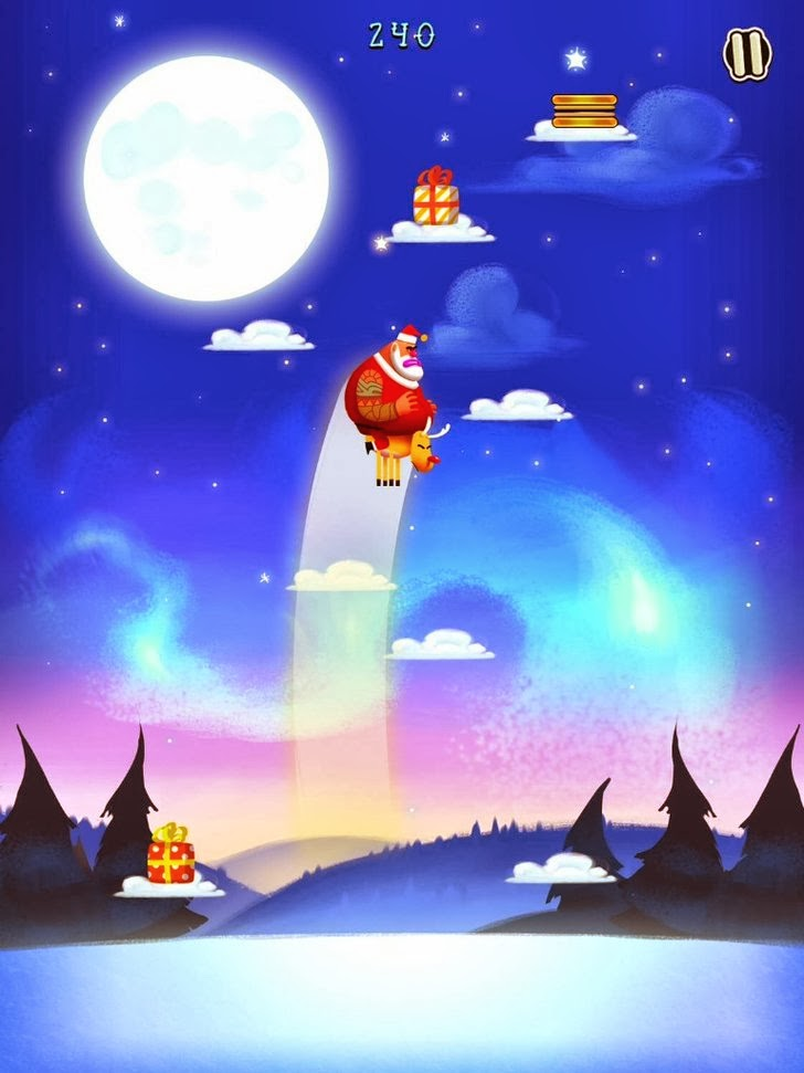 Santa Jump App iTunes App By IceMochi - FreeApps.ws