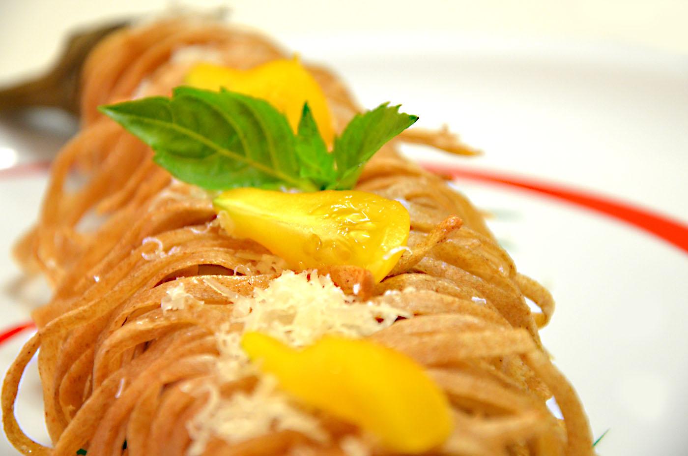 Sweet bio delicious abbraccio di farrette e melanzane perlina for Melanzane innestate