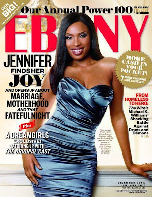 Jennifer Hudson en couv' d'Ebony Magazine
