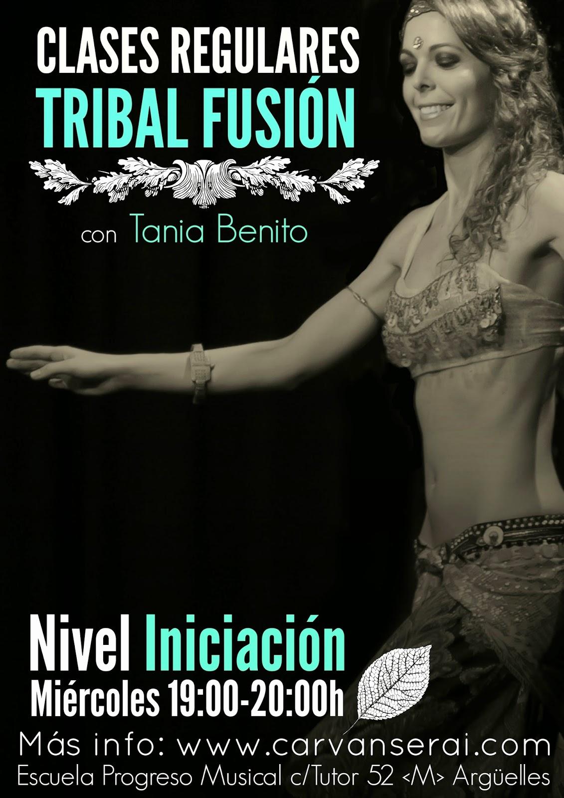 clases de nivel iniciacion fusion tribal con tania benito