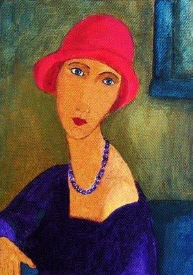 Cuadro de Amadeo Modigliani, Mónica López Bordón, poesía, Editorial Playa de Ákaba