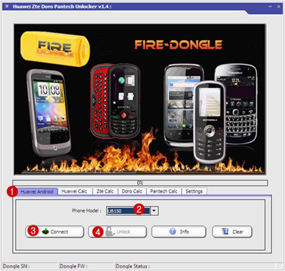 Huawei-Zte-Doro-Pantech-Unlocker