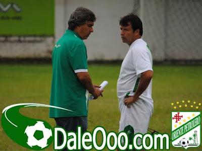 Oriente Petrolero - Erwin Sánchez, Carlos Aragonés - Club Oriente Petrolero