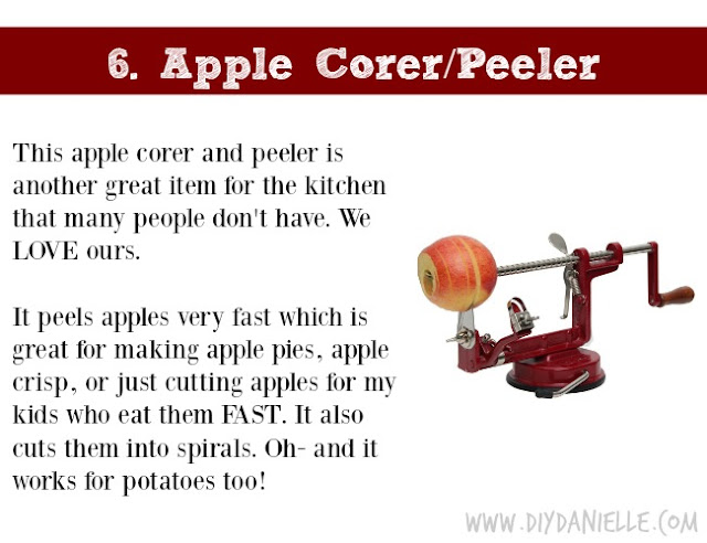 Holiday Gift Idea for Adults: Apple and Potato Corer/Peeler