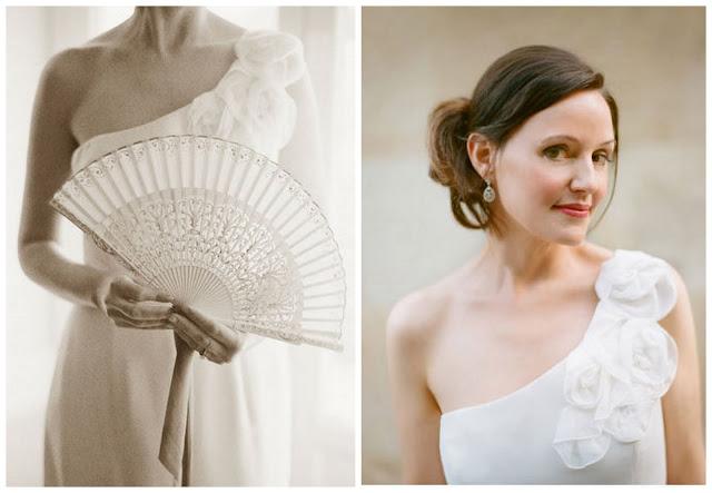 Real spanish flamenco style wedding for Flamenco style wedding dress