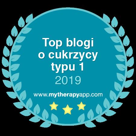 BlueSugarCube w Top 5 blogów o cukrzycy typu 1