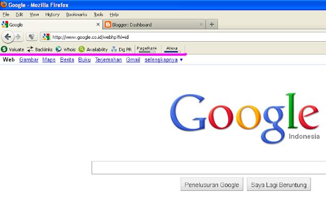 Backlink yang Berkualitas - Menambahkan SEO Add-on Pada Browser