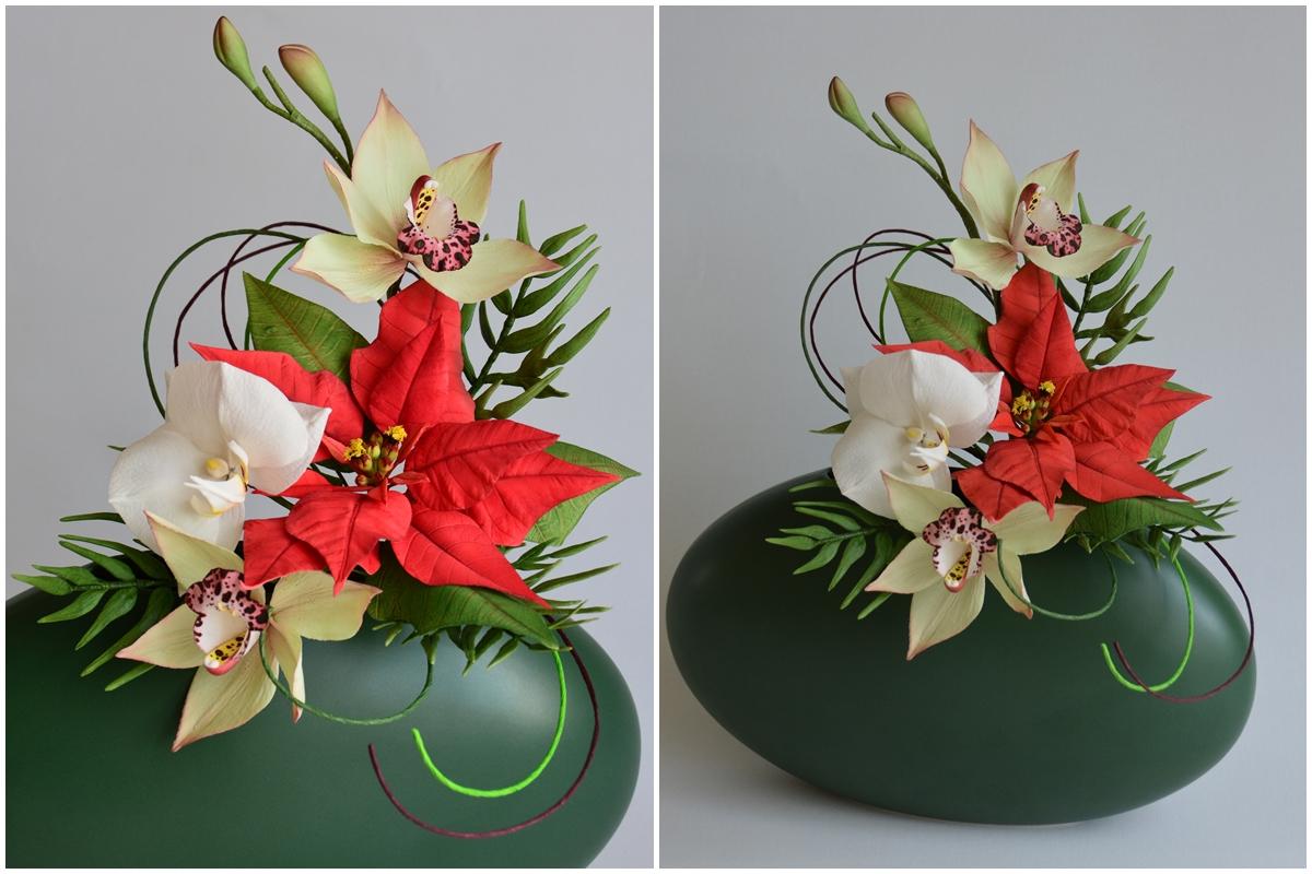 gumpaste blütenpaste orchideen orchids sugarflowers