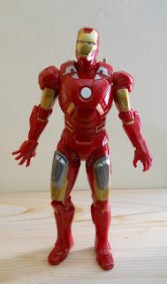 maqueta de Ironman