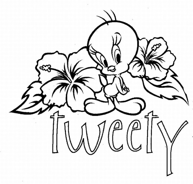 tweety coloring page 2 tweety coloring page 3 tweety coloring page 4  title=