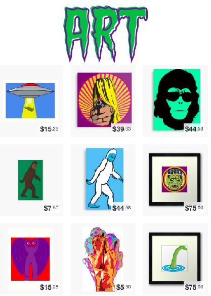 Prints, Posters, Metal Signs and More!