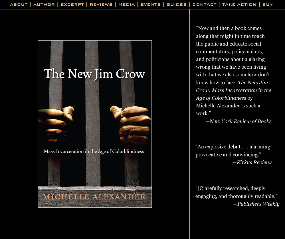 discrimination of african americans in michelle alexanders the new jim crow Michelle alexander, a law professor and author of a provocative book about drug laws credit ben garvin for the new york times everyone in the african-american community had been seeing exactly.