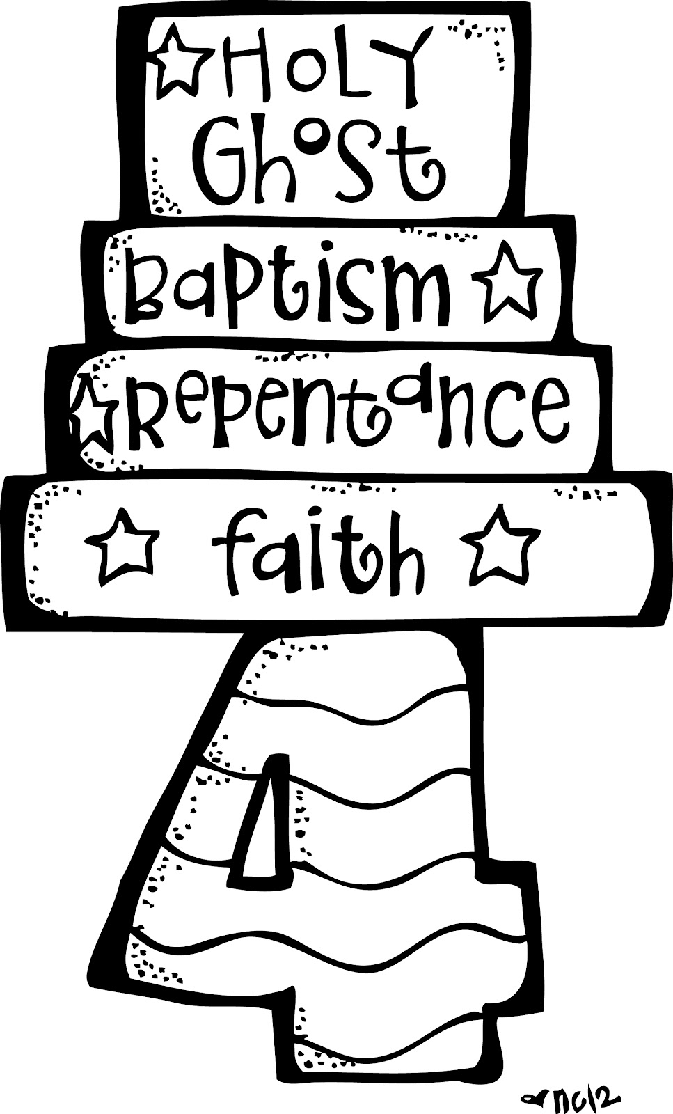 article of faith coloring pages - photo#15