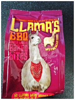Llama's BBQ Whole Wheat Bakes Bites
