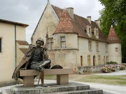 Le pèlerin des ruines de Cayac, GRADIGNAN, Gironde.