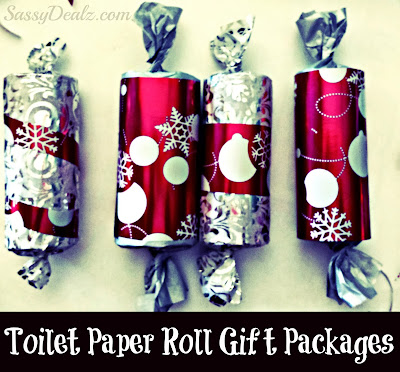 toilet paper roll christmas gift boxes for kids