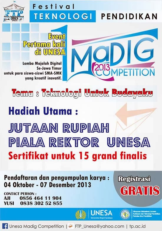 Unesa Madig Competition 2013