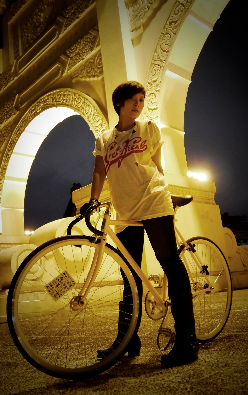 張貼者: FIXED GEAR GIRL