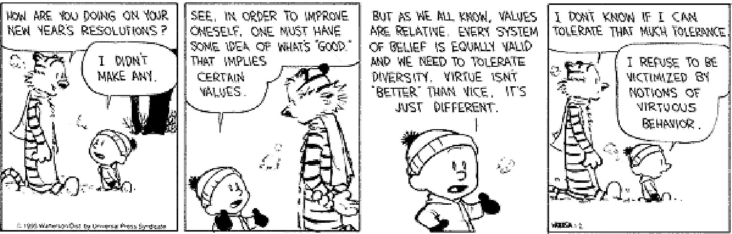 the philosophy in calvin and hobbes a daily comic strip by bill waterson As you may know, calvin & hobbes contains religious and philosophical significance in its very titlein a nod to his political science classes in college, creator bill watterson named calvin after john calvin, the 16th-century theologian and reformer, and hobbes after the 17th-century philosopher thomas hobbes.
