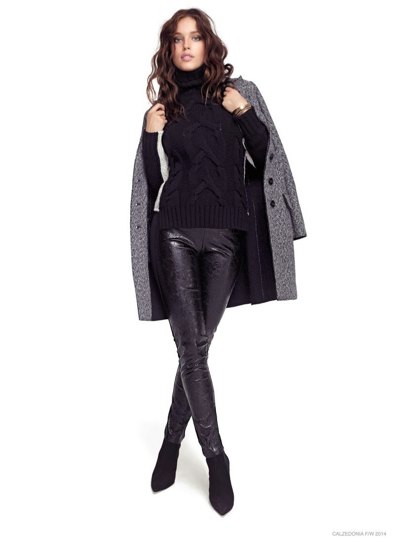 Calzedonia Fall/Winter 2014 Campaign starring Emily DiDonato