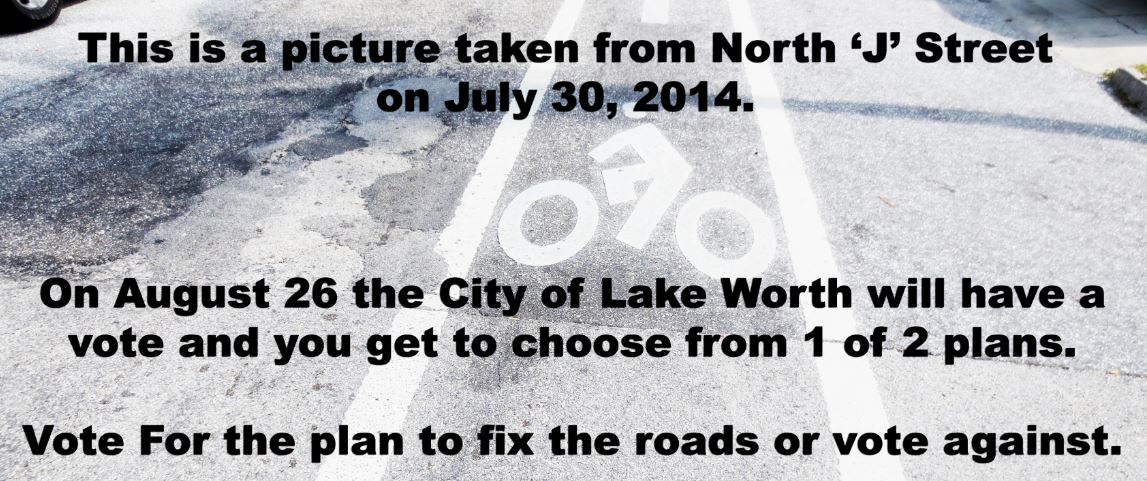 "How to fix road network in Lake Worth—Click on ""North 'J' Street"":"