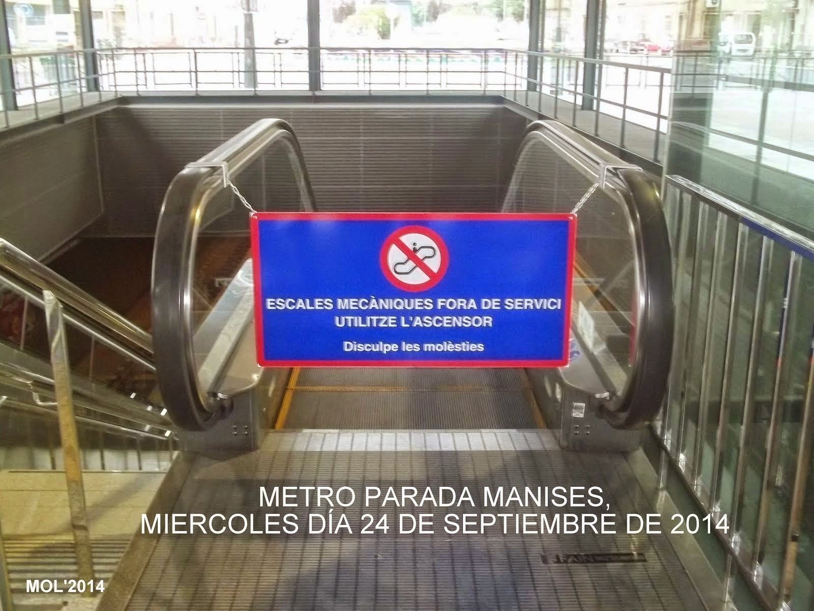 LOS INTERMINABLES PROBLEMAS DEL METRO EN MANISES