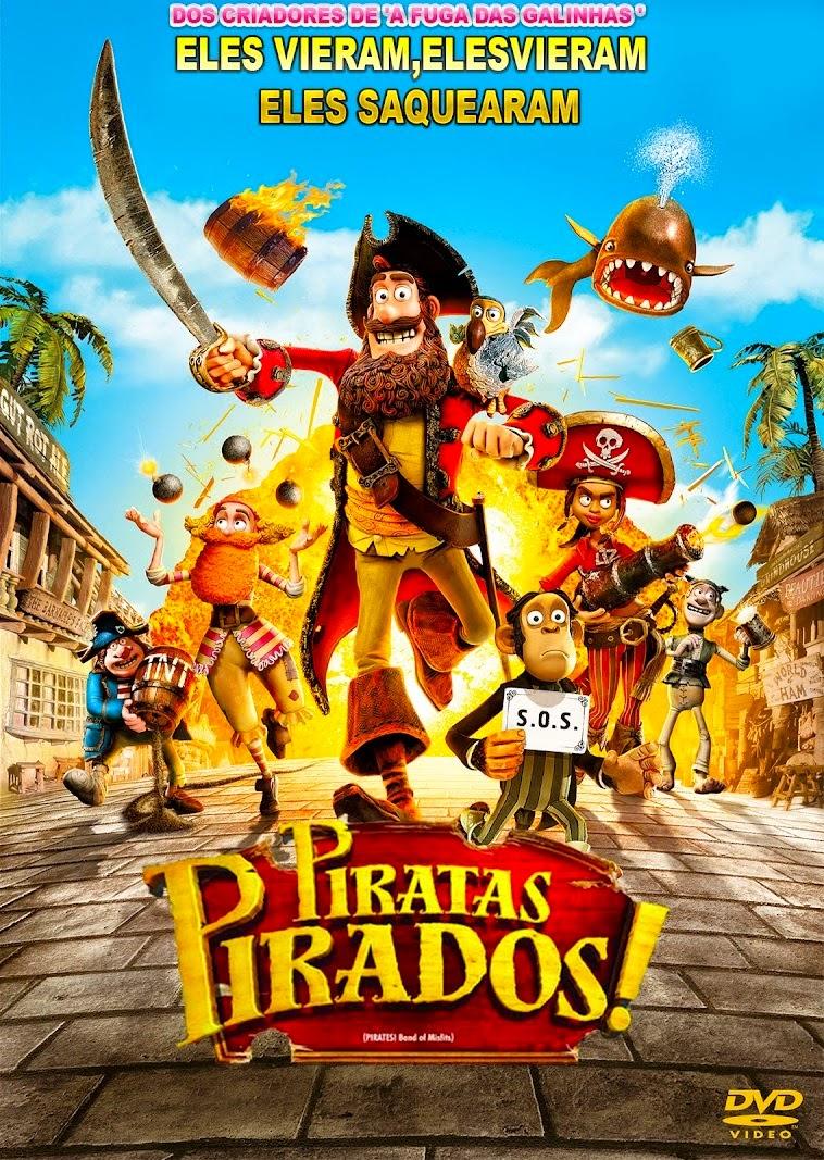 Piratas Pirados! – Dublado (2012)