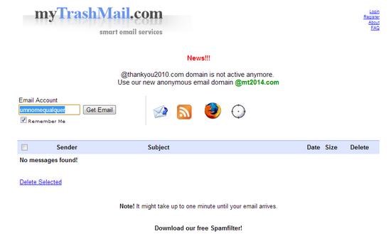 validar cadastros sem usar e-mail pessoal