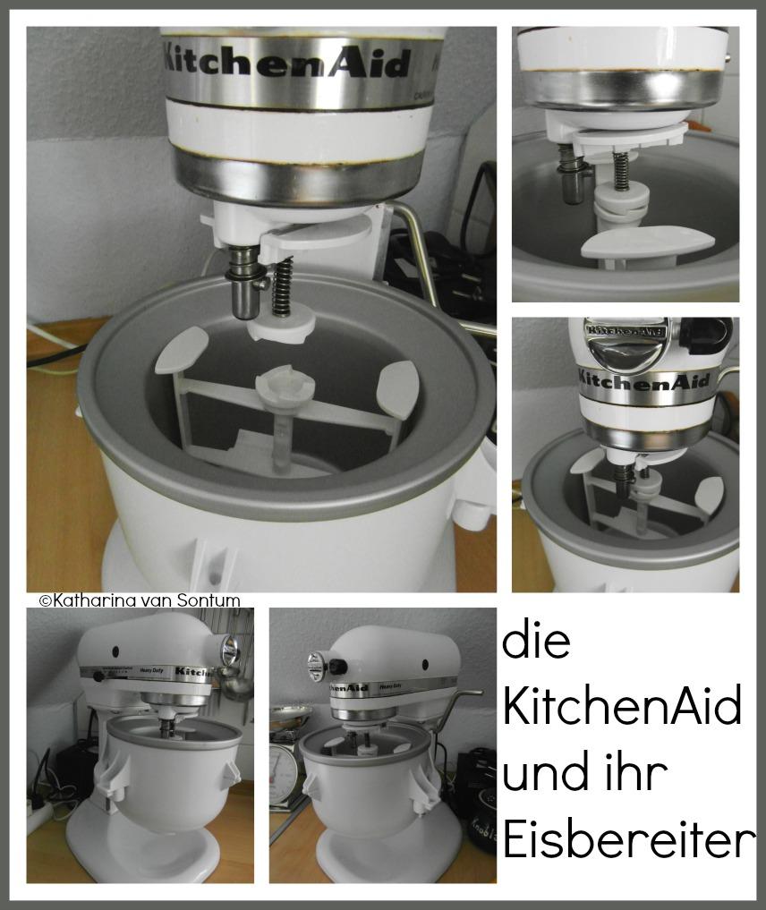 ich hab da mal was ausprobiert eis selbstgemacht mit der kitchenaid eismaschine. Black Bedroom Furniture Sets. Home Design Ideas