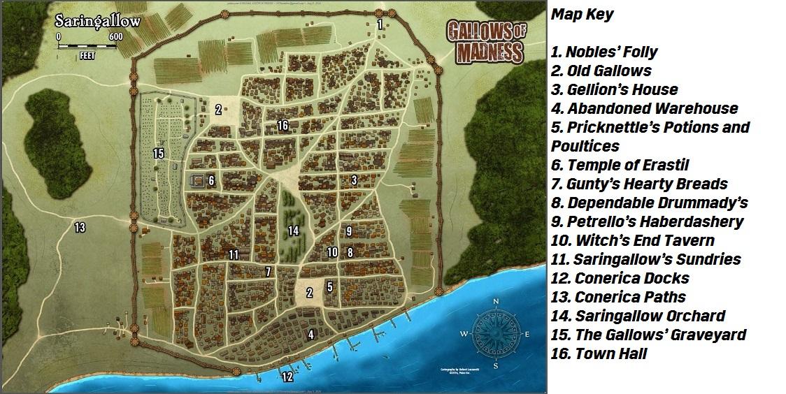 Combat Map - Saringallow