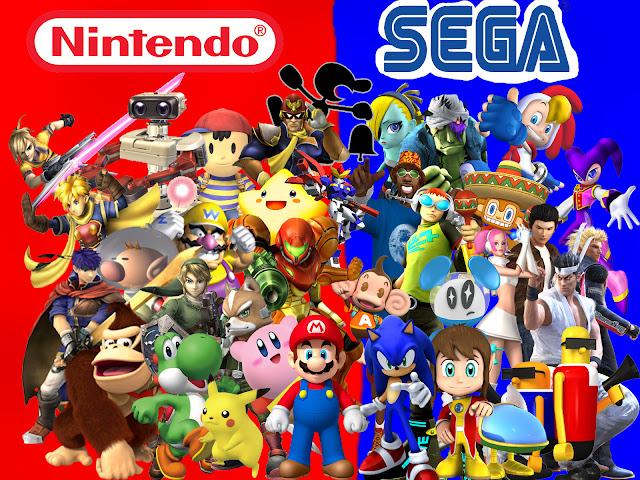 Fala pessoal, hoje eu vim falar sobre a Nintendo e a Sega e sobre a