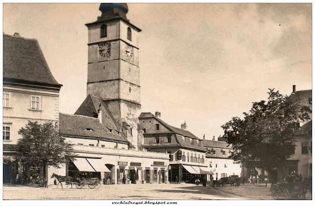Piata Mare din Sibiul de altadata