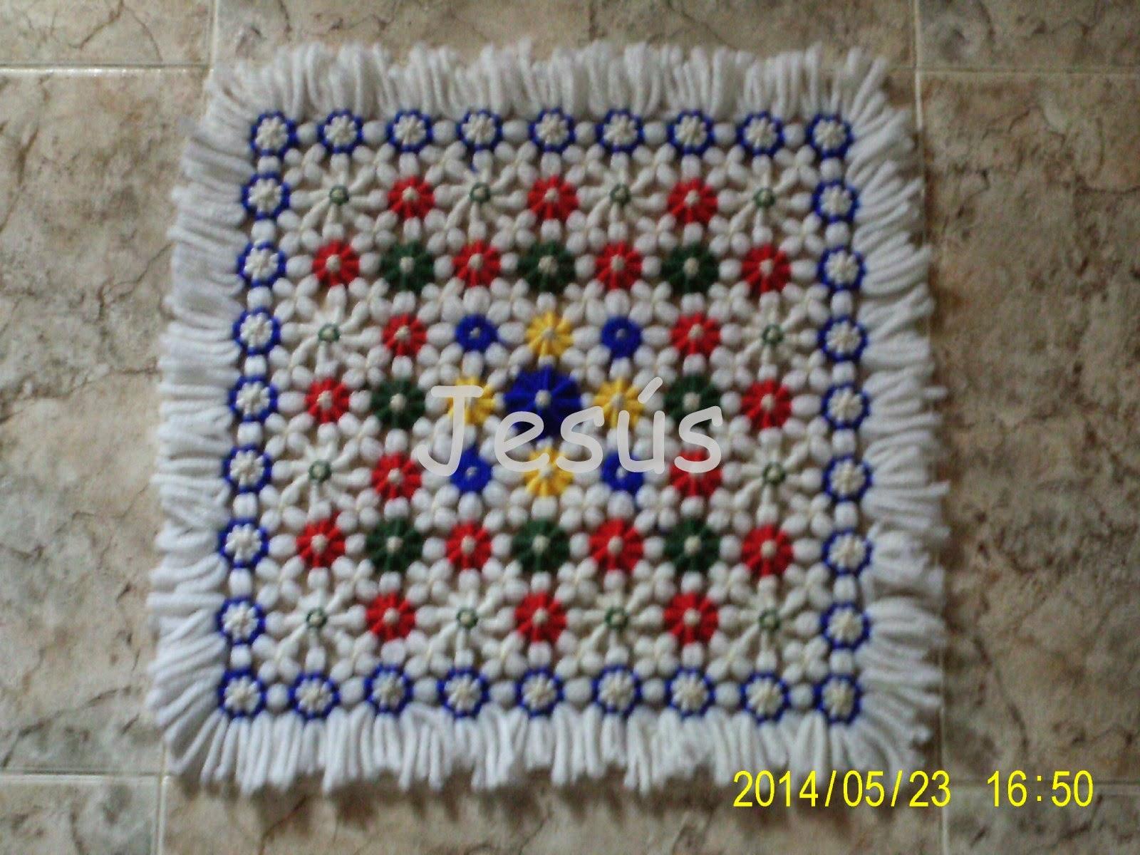 Adesivo De Credito Santander ~ Tapetes artesanos de amig@s Tapetes de la mili ~ Angela