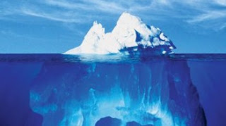 la punta de un iceberg