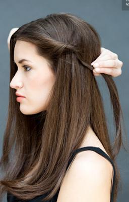 buat belahan rambut sesuai keinginan Anda