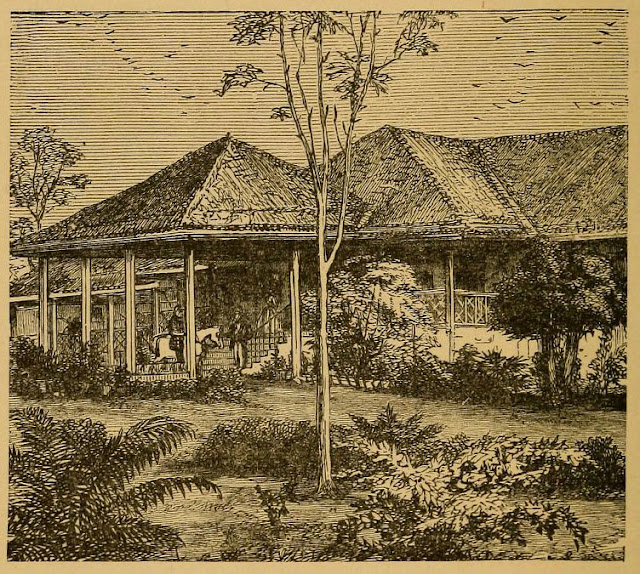 A Bungalow India Illustration 1876
