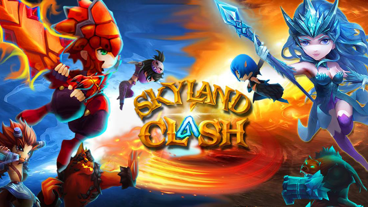 Skyland Clash Gameplay IOS / Android