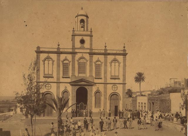 Imagen nº 00446 propiedad del archivo de fotografía histórica de la FEDAC/CABILDO DE GRAN CANARIA. Realizada en el año 1891 por D. Alejandro S. Witcomb.