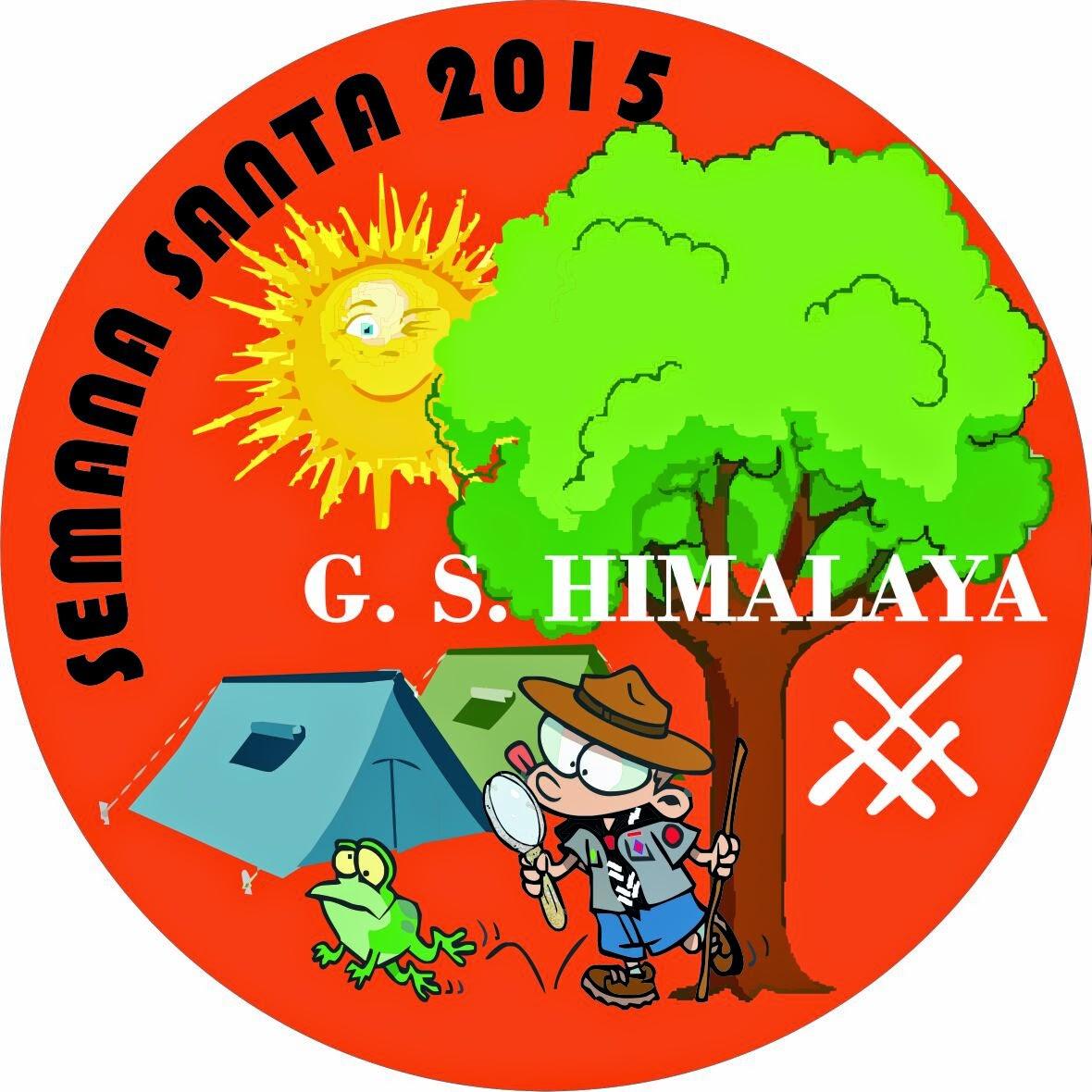Grupo Scout Himalaya: Nuevo trimestre, Día del amigo y fotos campa
